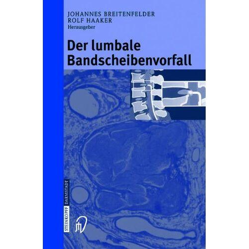 J. Breitenfelder - Der lumbale Bandscheibenvorfall - Preis vom 12.05.2021 04:50:50 h