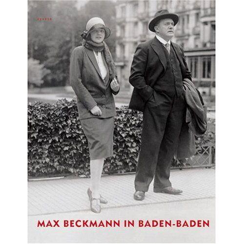 Max Beckmann - Max Beckmann in Baden-Baden - Preis vom 20.10.2020 04:55:35 h