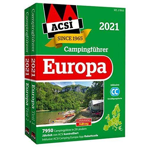 Ingo Wagner - ACSI Internationaler Campingführer Europa 2021: in 2 Bänden inkl. Ermässigungskarte und ACSI Camping Europa-App Rabattcode. (Hallwag Promobil) - Preis vom 17.04.2021 04:51:59 h