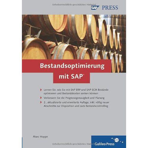 Marc Hoppe - Bestandsoptimierung mit SAP: Effektives Bestandsmanagement mit SAP ERP und SAP SCM (SAP PRESS) - Preis vom 08.05.2021 04:52:27 h