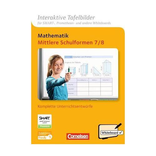 - Interaktive Tafelbilder Mathematik - Mittlere Schulformen: 7./8. Schuljahr - CD-ROM mit interaktiven Tafelbildern - Preis vom 07.04.2020 04:55:49 h