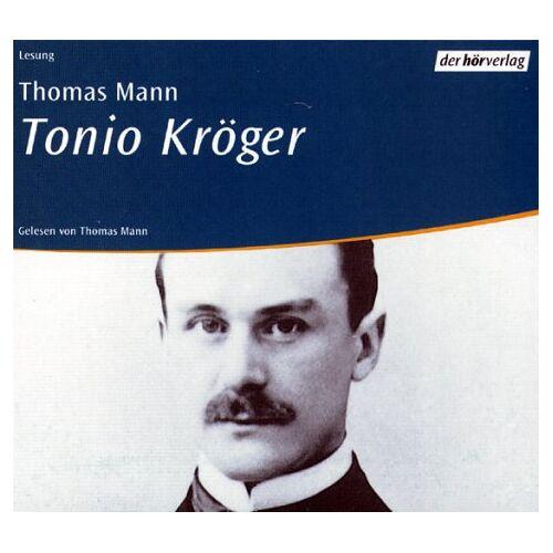 Thomas Mann - Audiobook: Tonio Kröger. 4 CDs. - Preis vom 14.04.2021 04:53:30 h