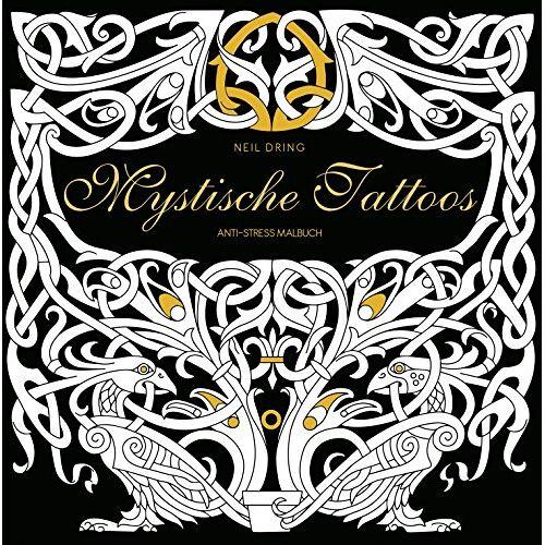 Neil Dring - Mystische Tattoos: Anti-Stress Malbuch - Preis vom 17.07.2019 05:54:38 h