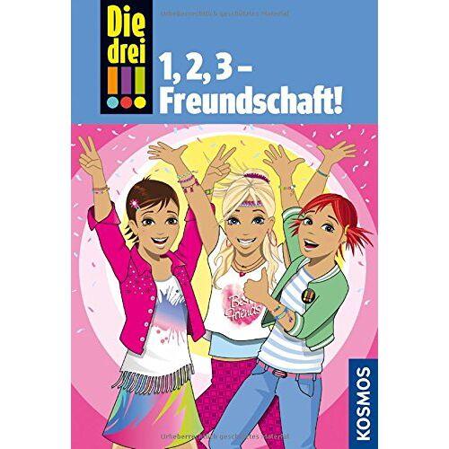Henriette Wich - Die drei !!!, 1,2 3 Freundschaft! - Preis vom 25.10.2020 05:48:23 h