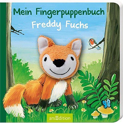 Lea-Marie Erl - Mein Fingerpuppenbuch - Freddy Fuchs (Fingerpuppenbücher) - Preis vom 28.11.2020 05:57:09 h