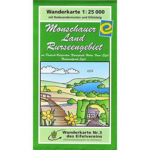 Eifelverein e.V. - WK Monschauer Land: Wanderkarte Nr. 3 des Eifelvereins - Preis vom 20.10.2020 04:55:35 h