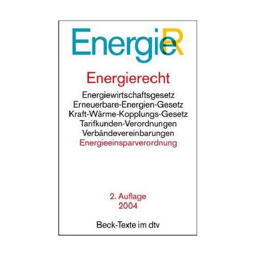 - Energierecht (EnergieR) - Preis vom 18.04.2021 04:52:10 h