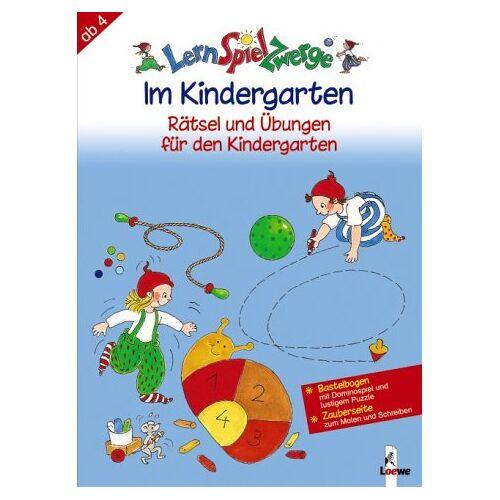 Birgitt Carstens - LernSpielZwerge Übungshefte: Im Kindergarten - Rätsel und Übungen - Preis vom 28.05.2020 05:05:42 h