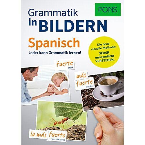 - PONS Grammatik in Bildern Spanisch: Jeder kann Grammatik lernen! - Preis vom 21.10.2019 05:04:40 h