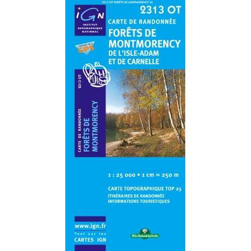 IGN - Forets de Montmorency 1 : 25 000 - Preis vom 21.10.2020 04:49:09 h