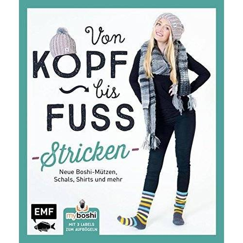 Thomas Jaenisch - MyBoshi. Von Kopf bis Fuß - stricken: Neue Boshis, Schals, Socken und mehr - Preis vom 12.05.2021 04:50:50 h