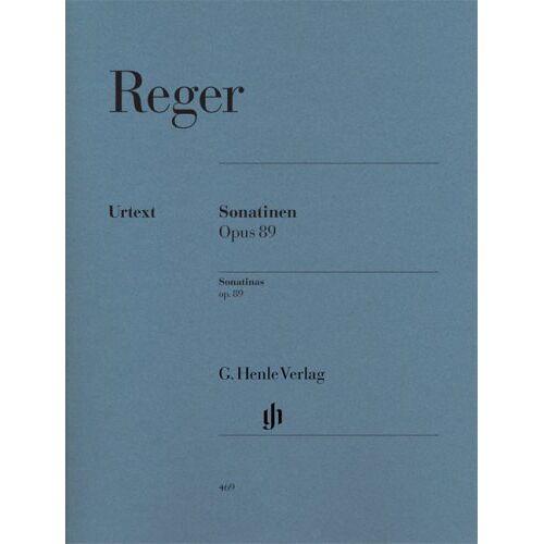 Max Reger - Sonatinen op. 89; Klavier 2 ms - Preis vom 10.04.2021 04:53:14 h