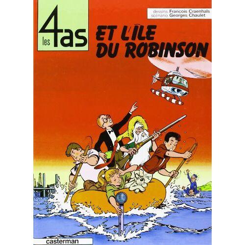 - Les 4 as et l'île du Robinson - Preis vom 26.03.2020 05:53:05 h