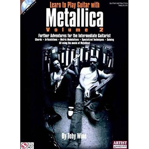 - Toby Wine: Learn To Play Guitar With Metallica - Volume 2 (TAB Book & CD): Noten, CD für Gitarre - Preis vom 21.10.2020 04:49:09 h