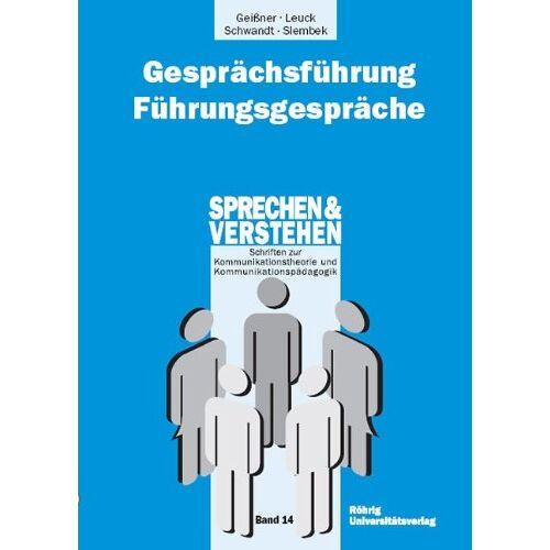 Hellmut Geißner - Gesprächsführung - Führungsgespräche - Preis vom 21.10.2020 04:49:09 h