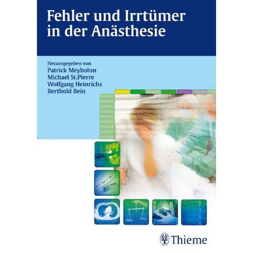 Patrick Meybohm - Fehler und Irrtümer in der Anästhesie - Preis vom 12.05.2021 04:50:50 h