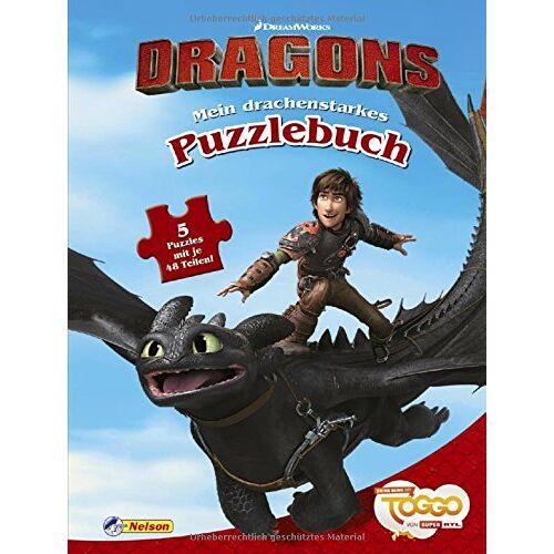 - DreamWorks Dragons Auf zu neuen Ufern: Mein drachenstarkes Puzzlebuch: Mit 5 tollen Puzzles - Preis vom 07.04.2021 04:49:18 h