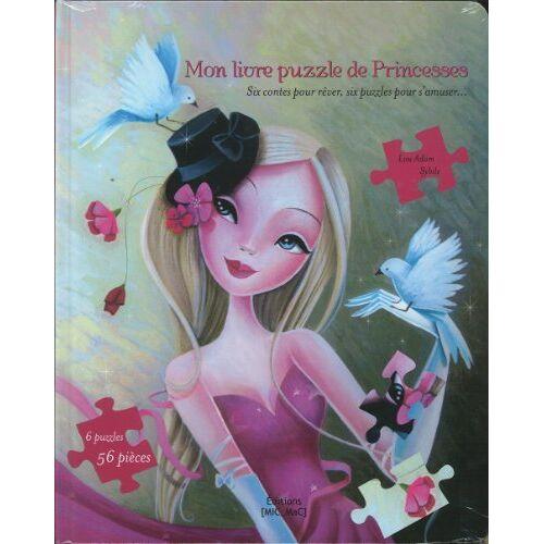 Lou Adam & Sybile - Mon livre puzzle de Princesses - Preis vom 24.02.2021 06:00:20 h