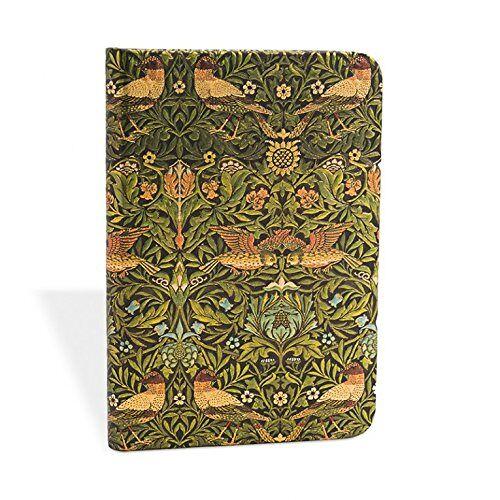 - William Morris Vögel - Notizbuch Mini Liniert - Paperblanks - Preis vom 03.05.2021 04:57:00 h