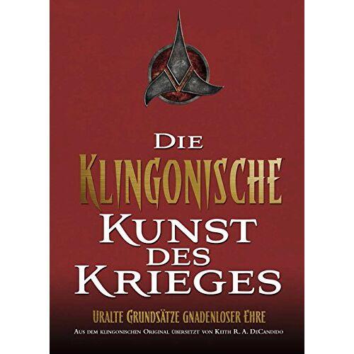 Candido, Keith R. A. De - Star Trek: Die Klingonische Kunst des Krieges - Preis vom 04.09.2020 04:54:27 h