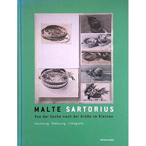 Thomas Hengstenberg - Malte Sartorius: Von der Suche nach der Größe im Kleinen. Radierung. Lithografie - Preis vom 31.03.2020 04:56:10 h