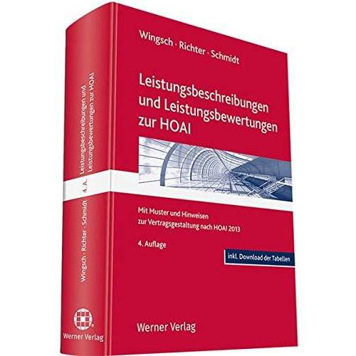 Dittmar Wingsch - Leistungsbeschreibungen und Leistungsbewertungen zur HOAI - Preis vom 17.04.2021 04:51:59 h