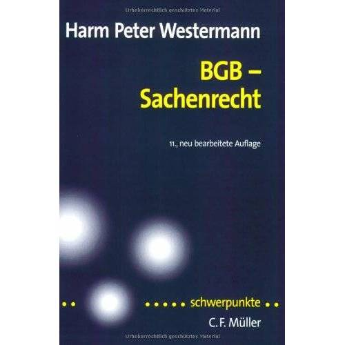 Westermann, Harm Peter - BGB-Sachenrecht - Preis vom 31.03.2020 04:56:10 h