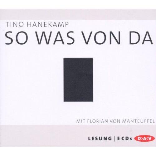 Tino Hanekamp - So was von da - Preis vom 21.04.2021 04:48:01 h