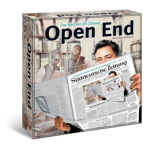 Peter Wichmann - Open End: Das Spiel mit der Zeitung - Preis vom 20.10.2020 04:55:35 h