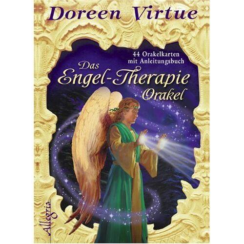 Doreen Virtue - Das Engel-Therapie-Orakel (Kartendeck): 44 Karten mit Anleitungsbuch - Preis vom 25.10.2020 05:48:23 h