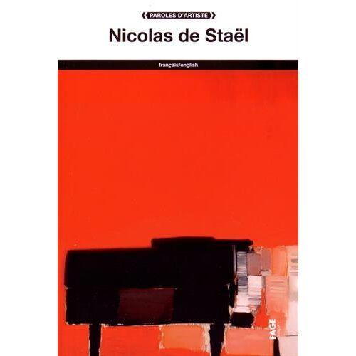 Staël, Nicolas de - Nicolas de Staël - Preis vom 25.02.2021 06:08:03 h