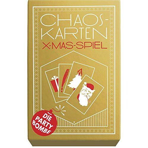 Jan Simmerl - Chaoskarten: X-mas-Spiel - Der Partyhit - Preis vom 18.02.2020 05:58:08 h