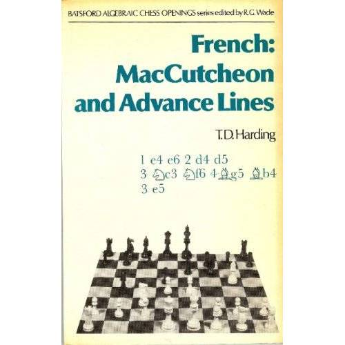 Harding, T. D. - French: MacCutcheon and Advance Lines - Preis vom 26.02.2021 06:01:53 h