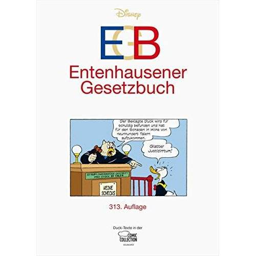 Walt Disney - EGB - Entenhausener Gesetzbuch - Preis vom 19.04.2021 04:48:35 h