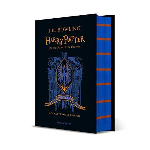 Rowling, J. K. - Harry Potter and the Order of the Phoenix – Ravenclaw Edition (House Edition Ravenclaw) - Preis vom 21.04.2021 04:48:01 h