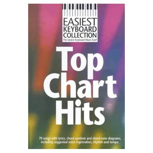 - Easiest Keyboard Collection: Top Chart Hits: Noten für Keyboard (Gesang) - Preis vom 19.10.2020 04:51:53 h