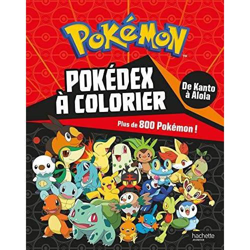 - Pokedex à colorier : Plus de 800 Pokémon ! - Preis vom 20.10.2020 04:55:35 h