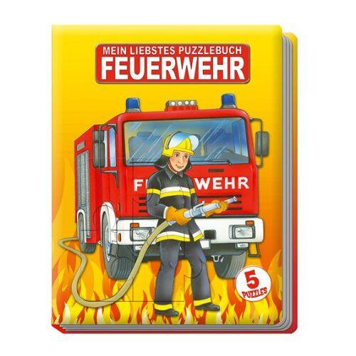 - Puzzlebuch Feuerwehr: 5 Puzzles - Preis vom 15.08.2019 05:57:41 h