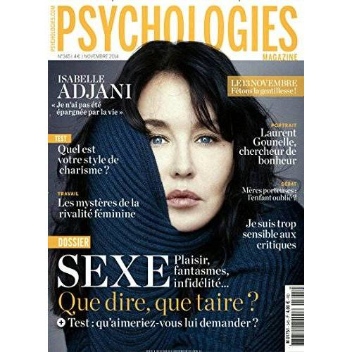 - PSYCHOLOGIES MAGAZINE [Jahresabo] - Preis vom 20.10.2020 04:55:35 h