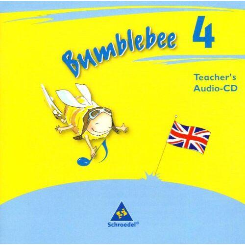 - Bumblebee - Ausgabe 2008: Teacher's Audio-CD 4 (Bumblebee 1 - 4, Band 14) - Preis vom 21.10.2020 04:49:09 h