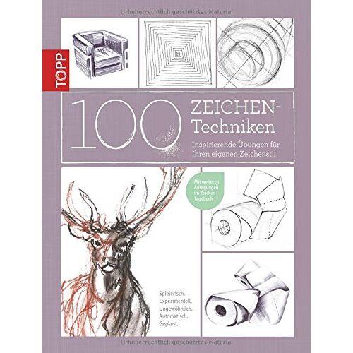 Monika Reiter - 100 Zeichentechniken: Inspirierende Übungen für Ihren eigenen Zeichenstil - Preis vom 07.04.2020 04:55:49 h