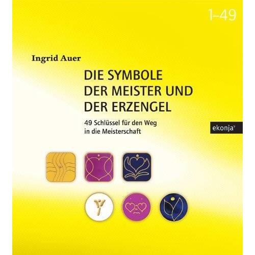Ingrid Auer - Die Symbole der Meister und der Erzengel, m. energetisierten Symbolkarten - Preis vom 24.02.2021 06:00:20 h