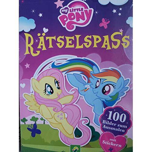 Hasbro - My little Pony Rätselspass mit Stickern und Ausmalbildern - Preis vom 23.02.2021 06:05:19 h