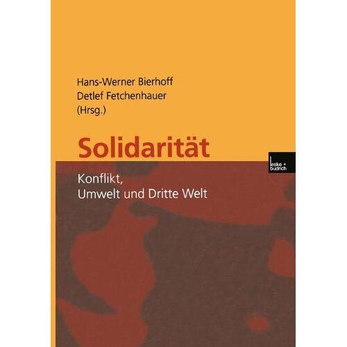 Hans-Werner Bierhoff - Solidarität - Preis vom 16.05.2021 04:43:40 h