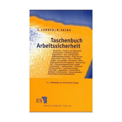 Reinald Skiba - Taschenbuch Arbeitssicherheit - Preis vom 01.03.2021 06:00:22 h