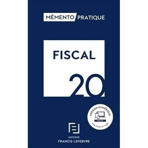 Collectif - MEMENTO FISCAL 2020 (FL.MEMENTO.BASE) - Preis vom 14.05.2021 04:51:20 h