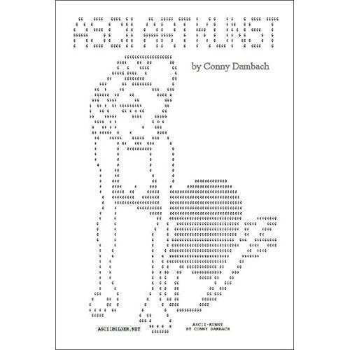 Conny Dambach - ASCII Art Kunst - Preis vom 18.10.2020 04:52:00 h