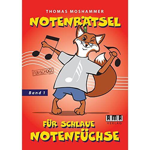 Thomas Moshammer - Notenrätsel für schlaue Notenfüchse: Band 1 - Preis vom 17.04.2021 04:51:59 h