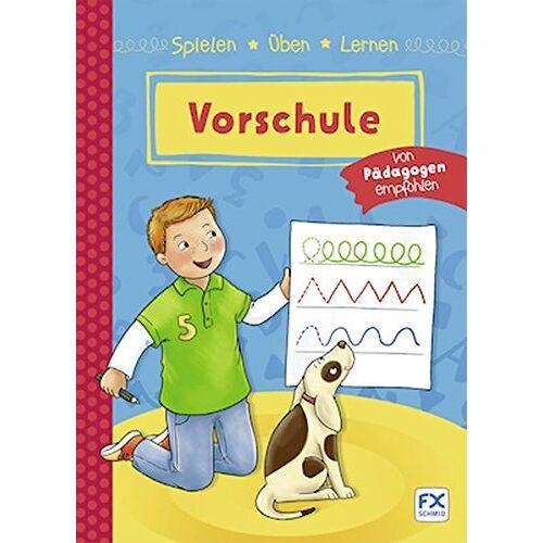 Various - Spielen, Üben, Lernen Vorschule - Preis vom 10.05.2021 04:48:42 h