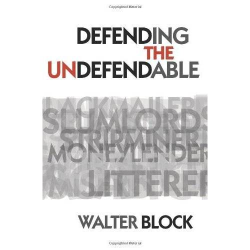 - Defending the Undefendable - Preis vom 08.04.2021 04:50:19 h